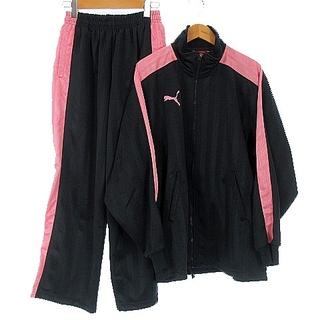 プーマ(PUMA)のプーマ ジャージ セットアップ 上下 ジャケット パンツ グレー ピンク SS(その他)