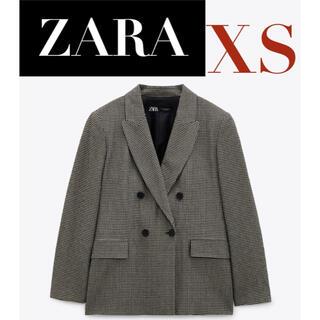 ZARA - 【新品/未着用】ZARA ダブルブレストブレザー テーラードブレザー ジャケット