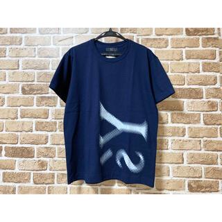 Yohji Yamamoto - 新品 未使用 タグ付き Y's ヨウジヤマモト ビッグロゴTシャツ ネイビー L