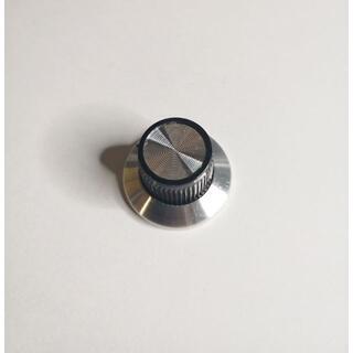アルミニウムノブ 24mm レトロ メタリック(エフェクター)
