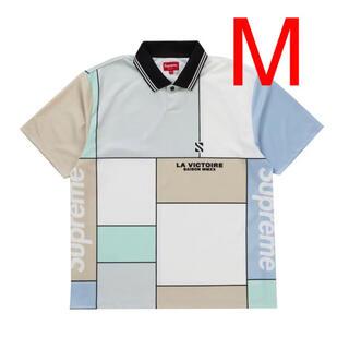 シュプリーム(Supreme)のSupreme color blocked soccer polo (ポロシャツ)
