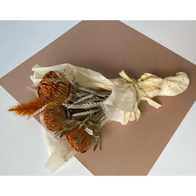 ドライフラワー ドリアンドラ テールリード ワイルドフラワー 花束 ハンドメイド ハンドメイドのフラワー/ガーデン(ドライフラワー)の商品写真