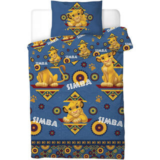 Disney - 日本未発売 ライオンキング シングル 布団カバー&枕カバーセット