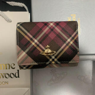 Vivienne Westwood - 未使用 ヴィヴィアンウエストウッド vivienne 紙袋なし 3つ折リ財布