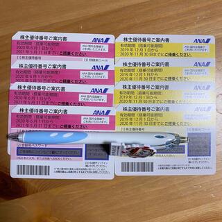 エーエヌエー(ゼンニッポンクウユ)(ANA(全日本空輸))のANA 優待券 8枚(使用期限5月末日4枚、11月末日4枚)(その他)