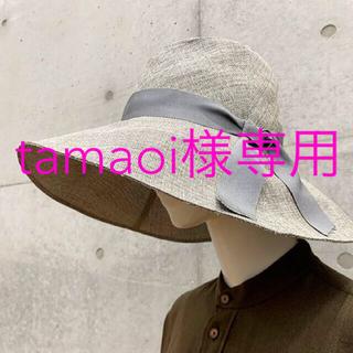 Ron Herman - 新品◆KIJIMA TAKAYUKI ワイドリムリボンハット 帽子 ロンハーマン