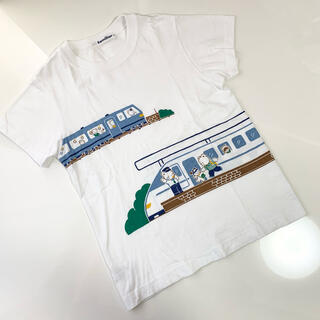 familiar - ファミリア おはなしTシャツ 新幹線 120センチ