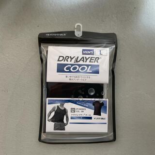 ファイントラック(finetrack)のファイントラック メンズ ドライレイヤークールTシャツ ブラック/Lサイズ(登山用品)