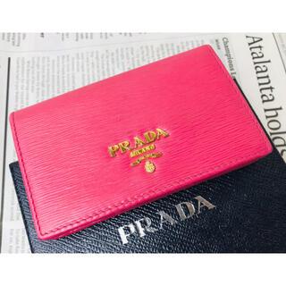PRADA - ☆特別価格☆ PRADA プラダ 名刺入れ 定期入れ カードケース サフィアーノ
