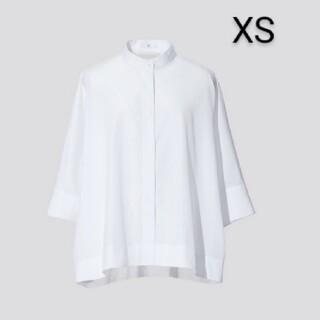 UNIQLO - ユニクロ ジルサンダー スーピマコットンドルマンスリーブシャツ ホワイト XS