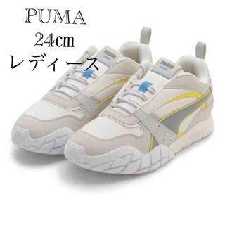 PUMA - PUMA emmiスニーカー カイロンミッドナイトサンウィメンズ24㌢