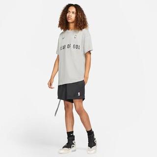 ナイキ(NIKE)のNIKE × フィアオブゴッド ウォームアップ グレー Lサイズ(Tシャツ/カットソー(半袖/袖なし))