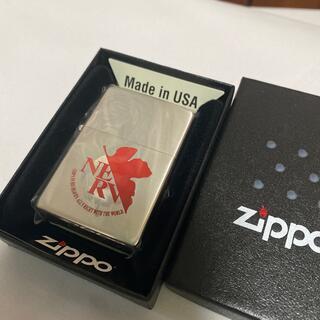 ジッポー(ZIPPO)の激レアジッポ  ネルフマーク 赤 エヴァ新劇 ZIPPO NERV 廃盤品(その他)