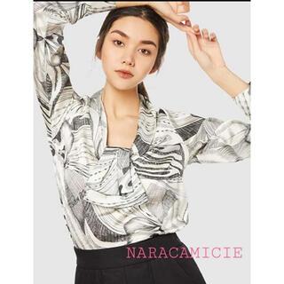 NARACAMICIE - 【新品タグ付き/定価26400円】ナラカミーチェ 1サイズ ブラウス カットソー