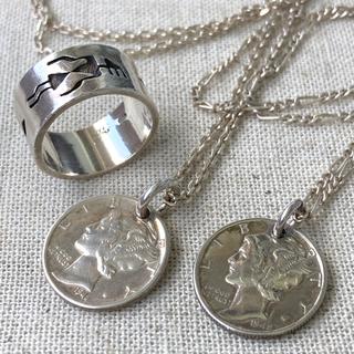 BEAMS - Vintage Liberty Mercury Dime / Hopi Ring
