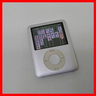 アイポッド(iPod)のiPod nano 第三世代 A1236 ホイール ソリティア ゲーム入り(ポータブルプレーヤー)