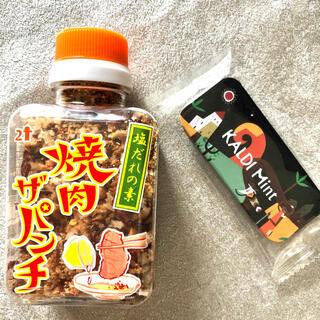 カルディ(KALDI)のカルディ ☆ 焼き肉ザ・パンチ & オリジナルミント缶(調味料)