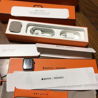 Apple Watch - Apple Watch Series 4 44mm HERMES 保証付