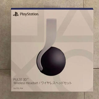 PlayStation - ps5 PULSE3D ワイヤレスヘッドセットCFI-ZWH1J