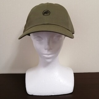 マムート(Mammut)の【新品】MAMMUT Baseball Cap L-XLサイズ オリーブ(登山用品)