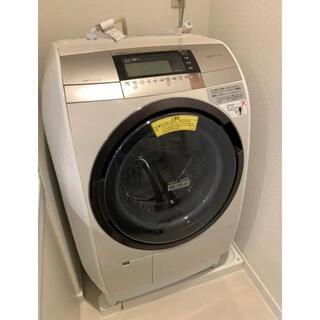 日立 - HITACHI BD-V9800L(N) ビッグドラム風アイロン ドラム式洗濯機