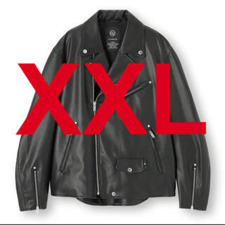 UNDERCOVER - gu アンダーカバー ライダースジャケット xxl