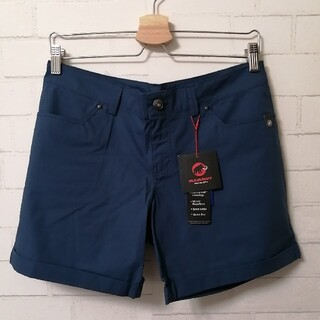 Mammut - 【新品】MAMMUT Roseg Shorts Women  アジアM 紺色