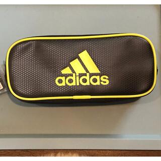 アディダス(adidas)の【送料込】三菱鉛筆 adidas アディダス ペンケース ブラック×イエロー(ペンケース/筆箱)