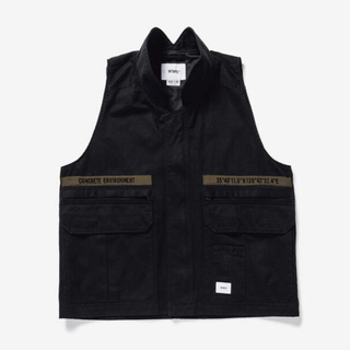 W)taps - Lサイズ WTAPS 21SS REP VEST COTTON. TWILL