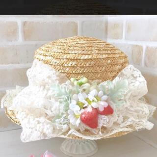 Innocent World - ピンクマープル いちご ストロベリー カンカン帽 ロリィタ