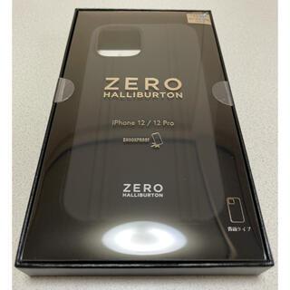 ゼロハリバートン(ZERO HALLIBURTON)のZERO HALLIBURTON iPhone12/12Proケース(新品)(iPhoneケース)