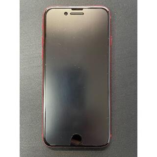 アップル(Apple)の中古美品 iPhone8 64GB RED SIMロック解除 バッテリー100%(スマートフォン本体)