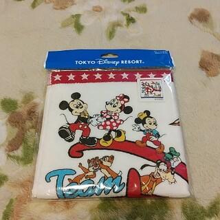 ディズニー(Disney)のディズニー チームディズニー グッズ タオル 未使用 匿名配送(キャラクターグッズ)