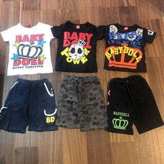 BABYDOLL - ベビードール babydoll Tシャツ 110cm 上下6点セット まとめ売り