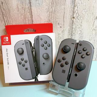 ニンテンドースイッチ(Nintendo Switch)の美品 人気カラー 廃盤グレー Switch 左右 ジョイコンJoy-Con(その他)