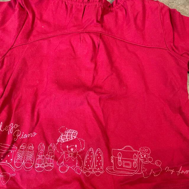 mezzo piano(メゾピアノ)のメゾピアノ トップス キッズ/ベビー/マタニティのキッズ服女の子用(90cm~)(Tシャツ/カットソー)の商品写真