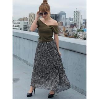 RESEXXY - ダルメシアン柄プリーツスカート