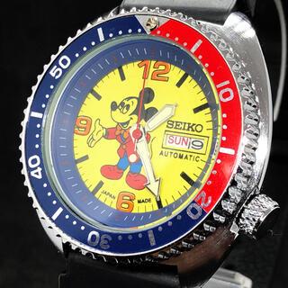 セイコー(SEIKO)の【カッコいい】SEIKO/ミッキーマウス/ダイバーカスタム/メンズ腕時計/激レア(腕時計(アナログ))