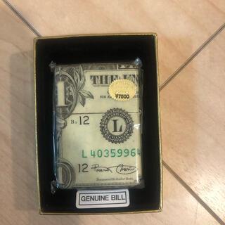 ジッポー(ZIPPO)の1ドル紙幣 zippo(その他)