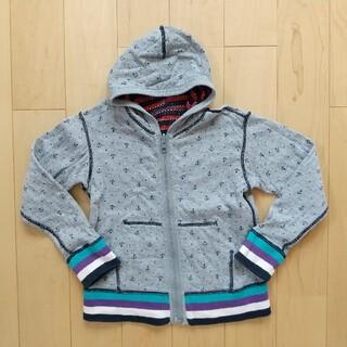 バックナンバー(BACK NUMBER)のライトオン バックナンバー 羽織り パーカー 110cm(ジャケット/上着)