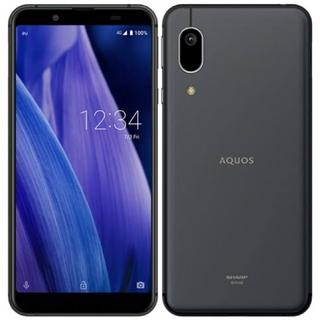 AQUOS - AQUOS sense3 SHV48 ブラックSIMロック解除済