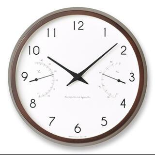 IDEE - レムノス カンパーニュ 掛け時計 温湿度計つき