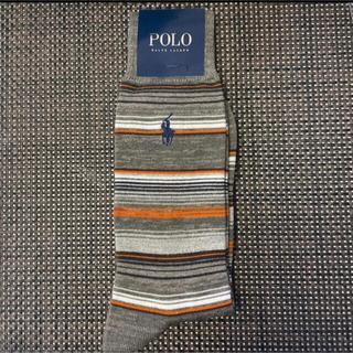 POLO RALPH LAUREN - 大人気!ボーダー!ポロ・ラルフローレンメンズ靴下