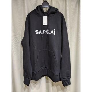 サカイ(sacai)の【XL】【新品タグ付】sacai × A.P.Cパーカー新品タグ付(パーカー)