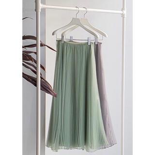スタニングルアー(STUNNING LURE)のSTUNNING LURE オーガンジースカート サイズ1 新品未使用 (ロングスカート)