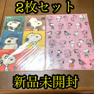 SNOOPY - スヌーピーミュージアム 限定 A5クリアファイル きょうだい Manyfaces