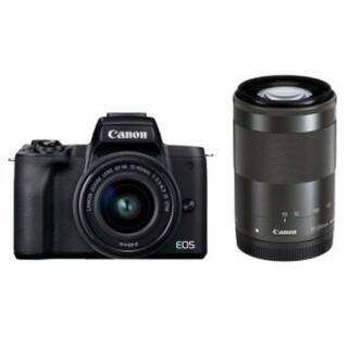 Canon - キヤノン EOS Kiss M(ブラック) ダブルズームキット