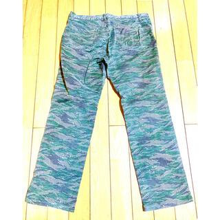 ブルーウェイ(BLUE WAY)のブルーウェイカンパニー ワークパンツ カモフラージュ柄 W34 古着(ワークパンツ/カーゴパンツ)