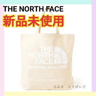 THE NORTH FACE - 【新品未使用】ノースフェイス オーガニックコットントート ホワイト