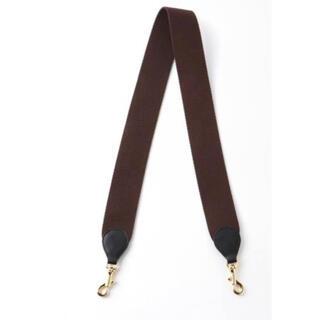 DEUXIEME CLASSE - 美品 Deuxieme Classe   BAG STRAP ブラウン